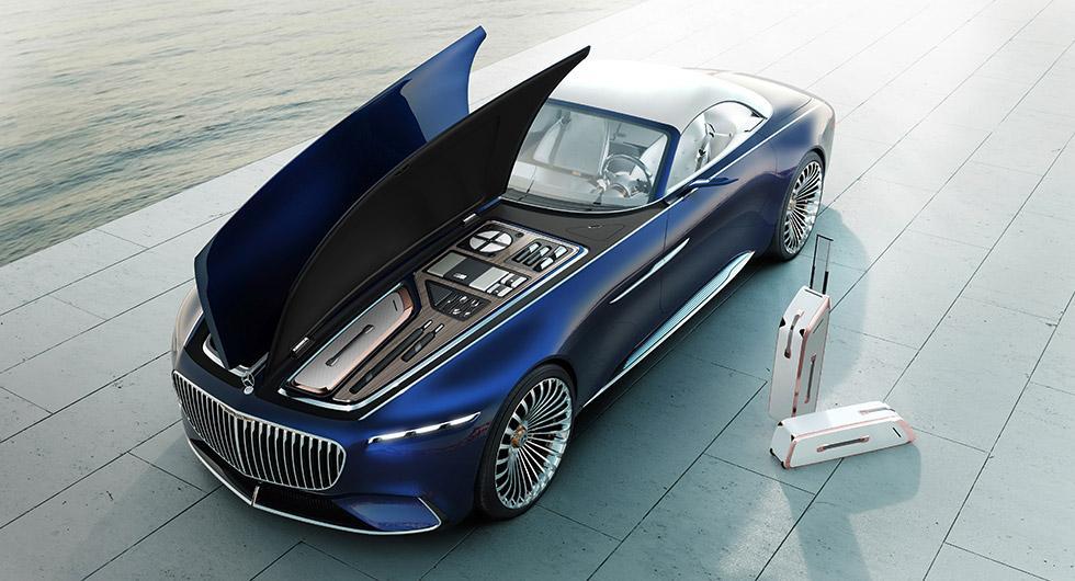 Mercedes-Maybach 6 – ultralyxig el-cabriolet