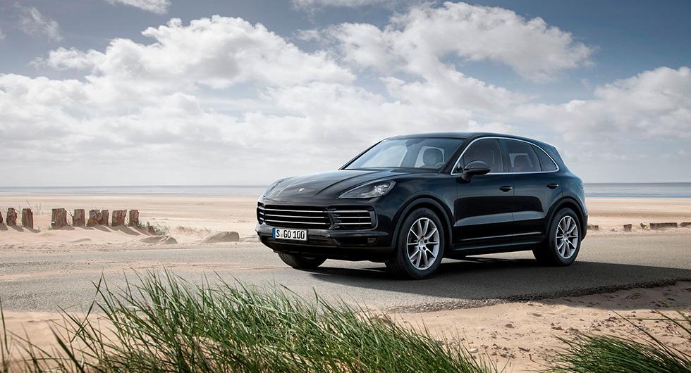 Muskelbyggaren Porsche Cayenne
