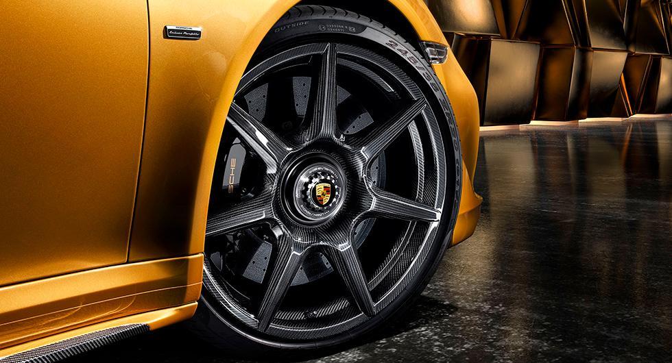 Porsche flätar fälgar