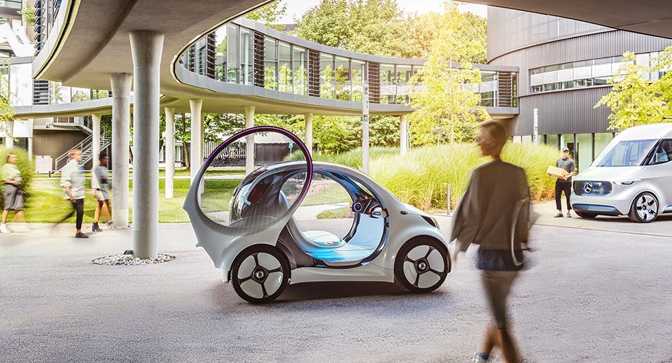 Framtidens smarta citybil