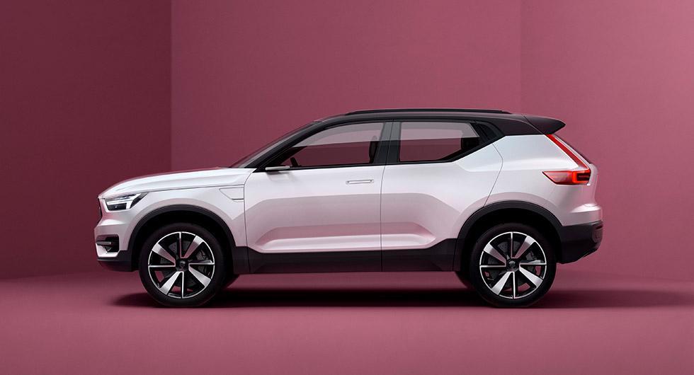 Konceptet 40.1 som Volvo visade i maj 2016 ger en antydan om hur nya XC40 kan komma att se ut.