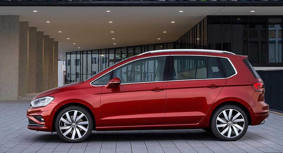 Volkswagen presenterar ny Golf Sportsvan