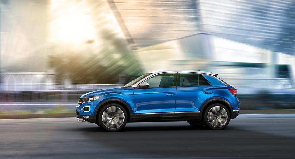Volkswagen T-Roc officiell