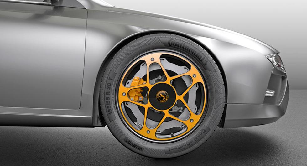 Continental uppfinner ny broms för elbilar