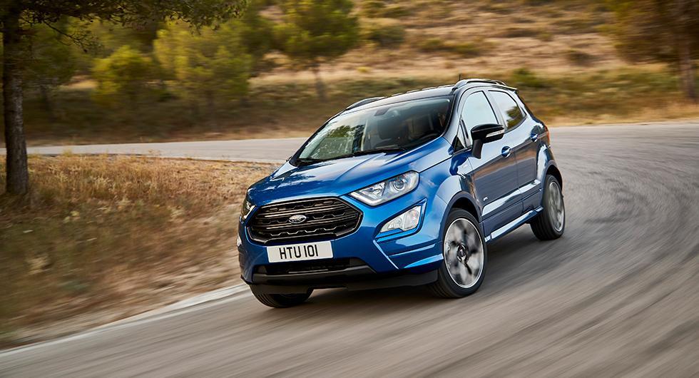 Ford Ecosport uppdateras
