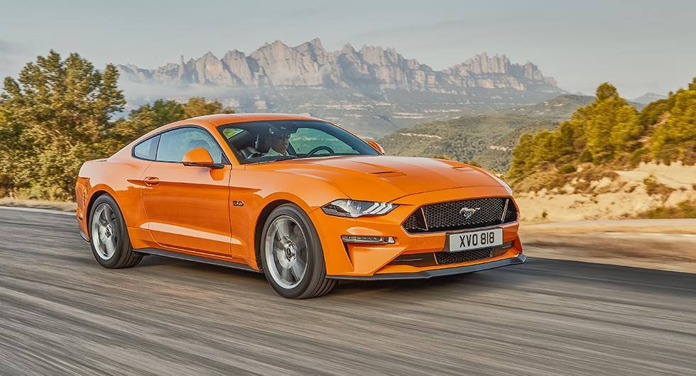 Ford Mustang får europeiskt lyft