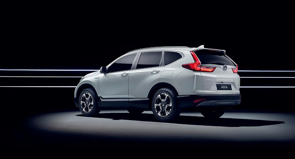 Honda CR-V blir hybrid