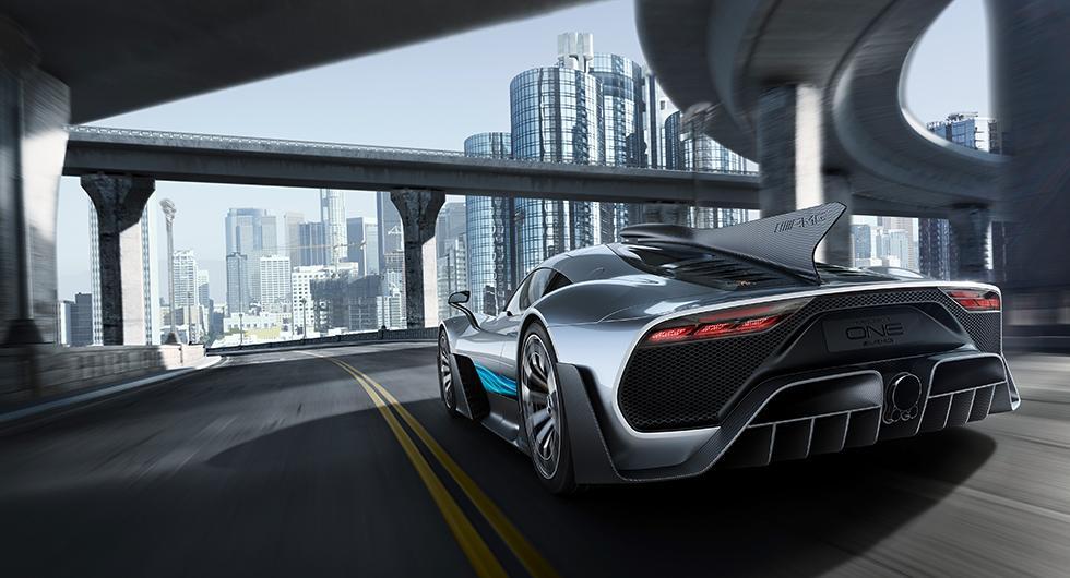 Project One en Formel 1-bil för gatan