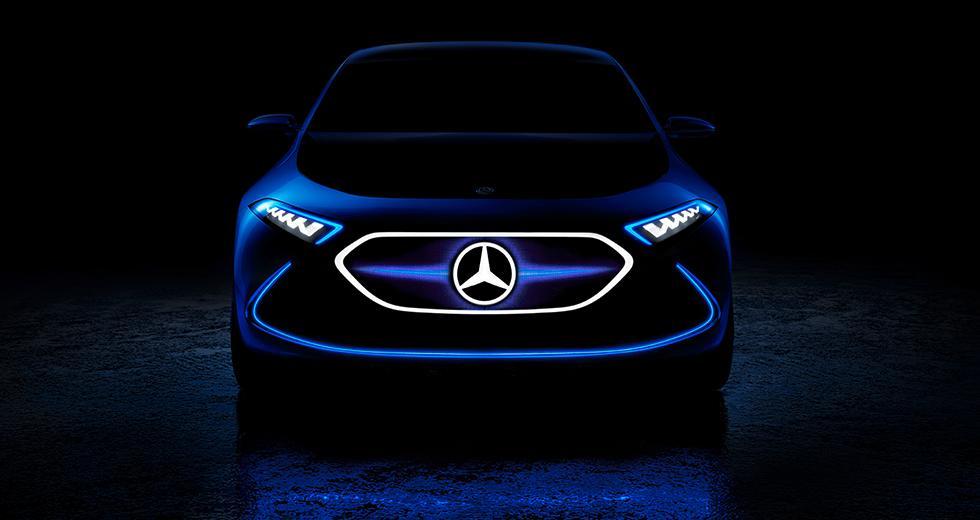 Mercedes visar kompakt elkoncept