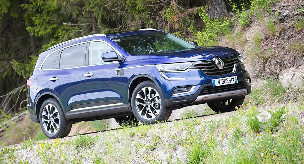 Nya Koleos är en stor bil – men så är namnet en ordlek från grekiskans koloss. Under Renault-linjerna vilar teknik från Nissan.