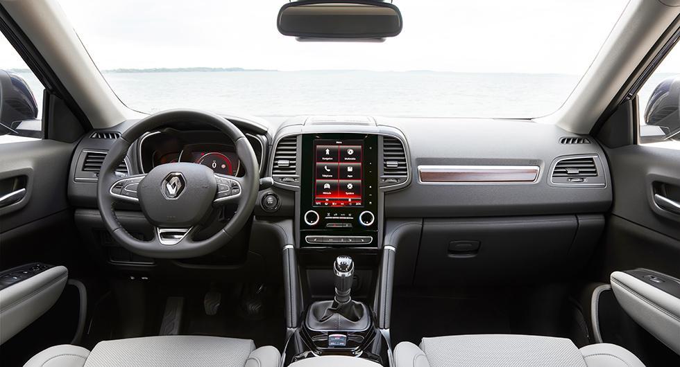 Renaults menysystem R-Link 2 har nu fått telefonspegling. Välj mellan liggande sju tums skärm eller stående 8,7-tums skärm.