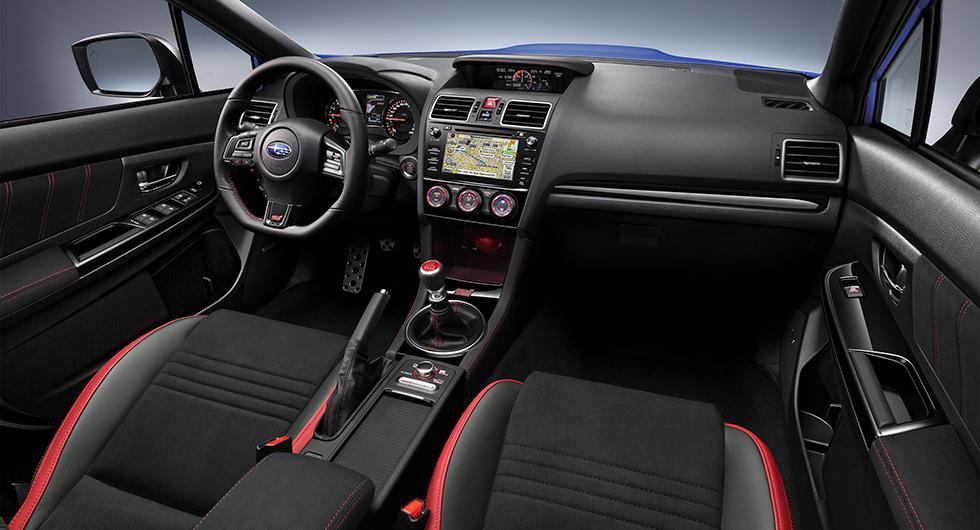 Subaru WRX STI tar farväl