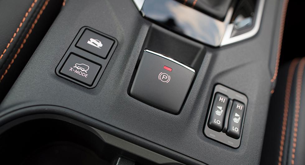 X-Mode ger mer grepp uppför och kontrollerad fart nedför.