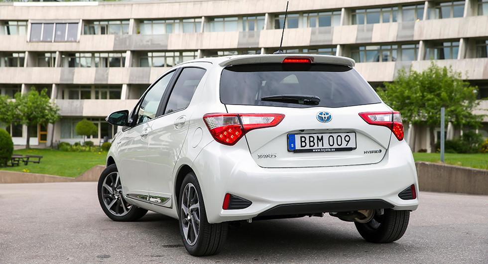 Provkörning: Toyota Yaris Hybrid (2017)