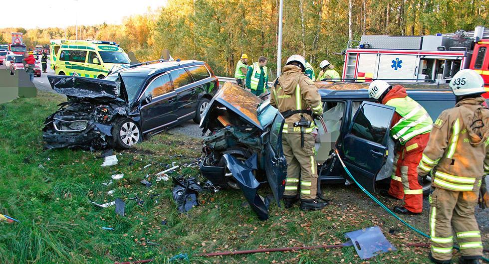 Försäkringsbolaget Folksam har sammanställt hur krocksäkra bilar är utifrån verkliga skaderapporter.