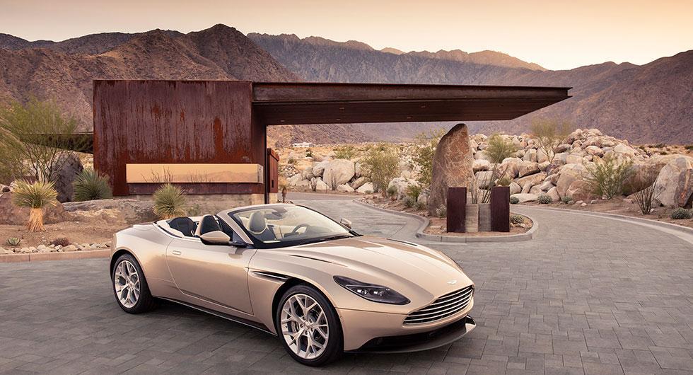 Aston Martin DB11 utan tak