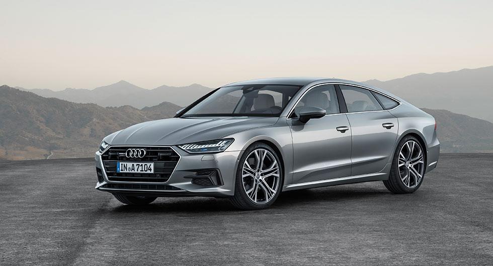 Nya A7 Sportback – mild och digital