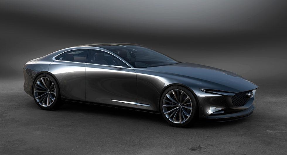 Mazda Vision Coupe blickar framåt