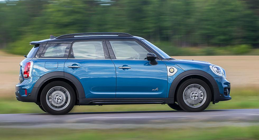 Provkörning: Mini Cooper Countryman S E All4 (2017)