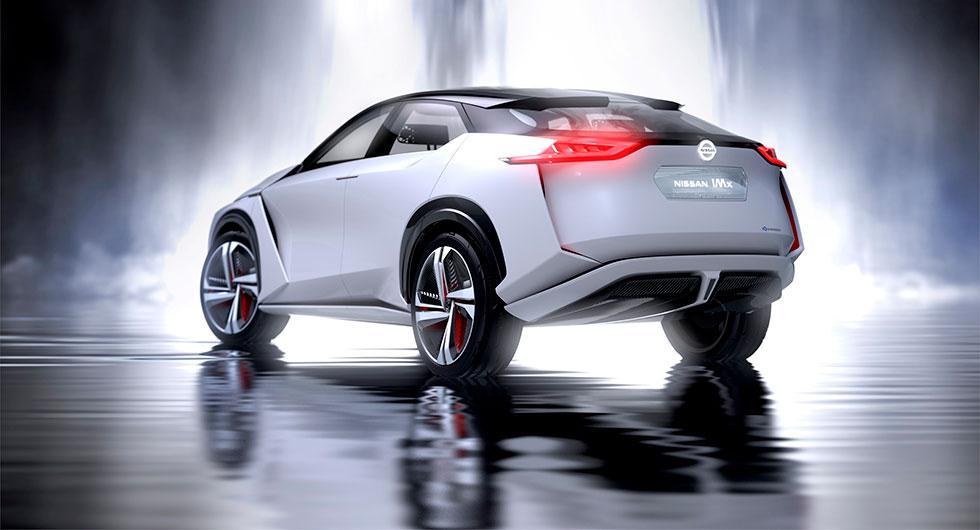 Eldriven crossover från Nissan