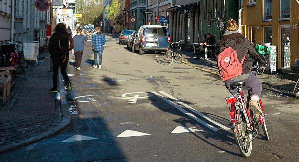 Fler cyklar ökar säkerheten
