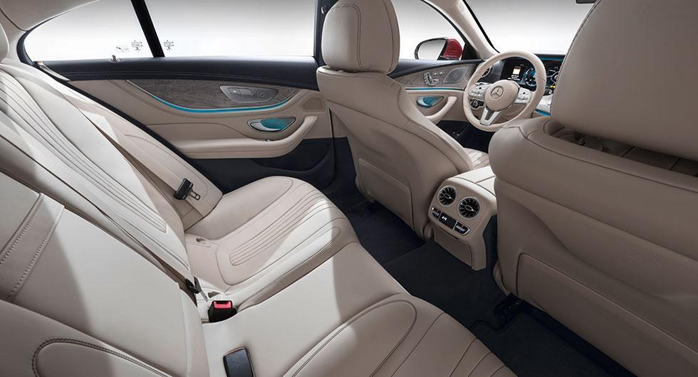 Plats för fler i nya Mercedes CLS