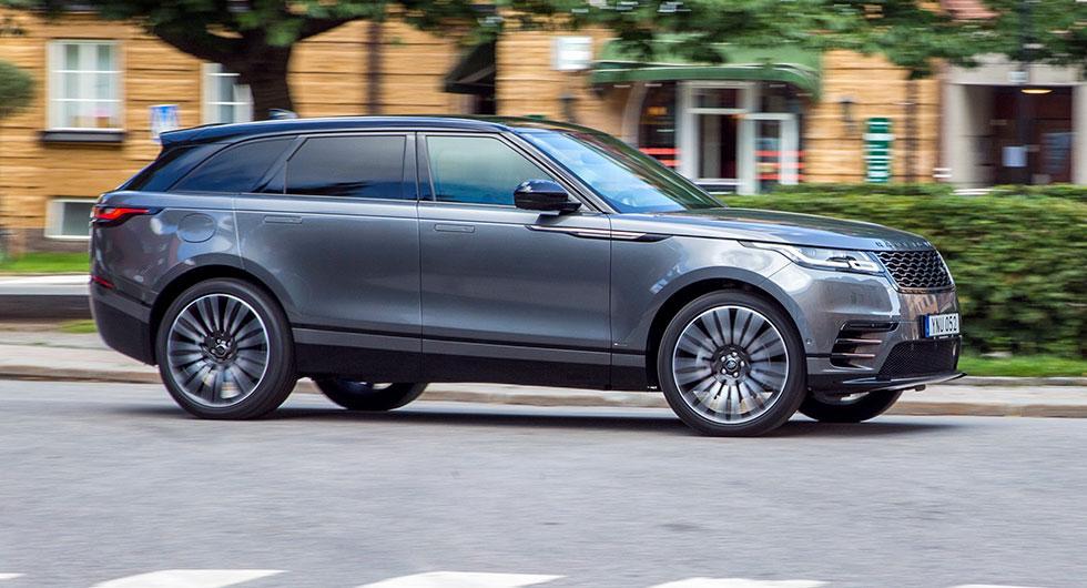 Velar – ja, bilen heter så – låter tveksamt på svenska men anspelar på den första prototypen av Range Rover från 1969.