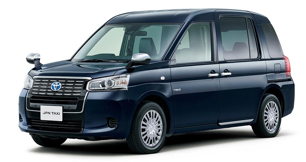"""Här är Toyotas """"supertaxi"""""""