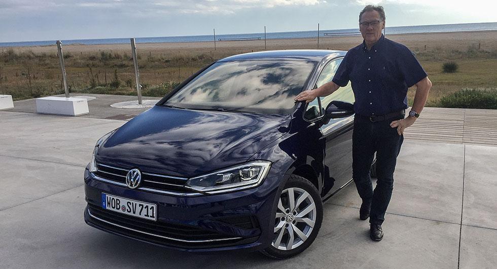 Volkswagen Golf Sportsvan – rapport från provkörningen