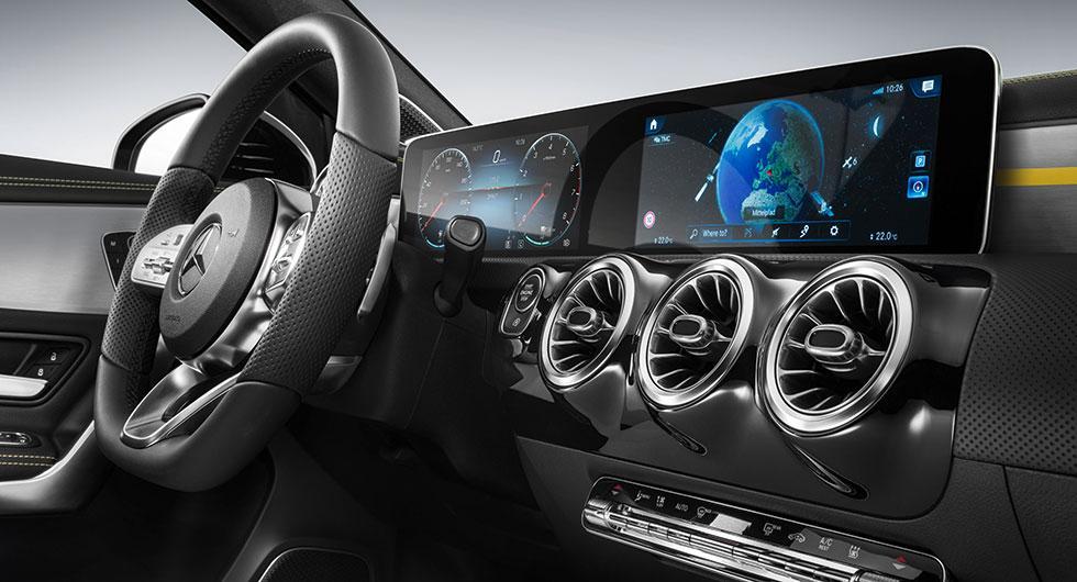 Nytt infotainmentsystem från Mercedes