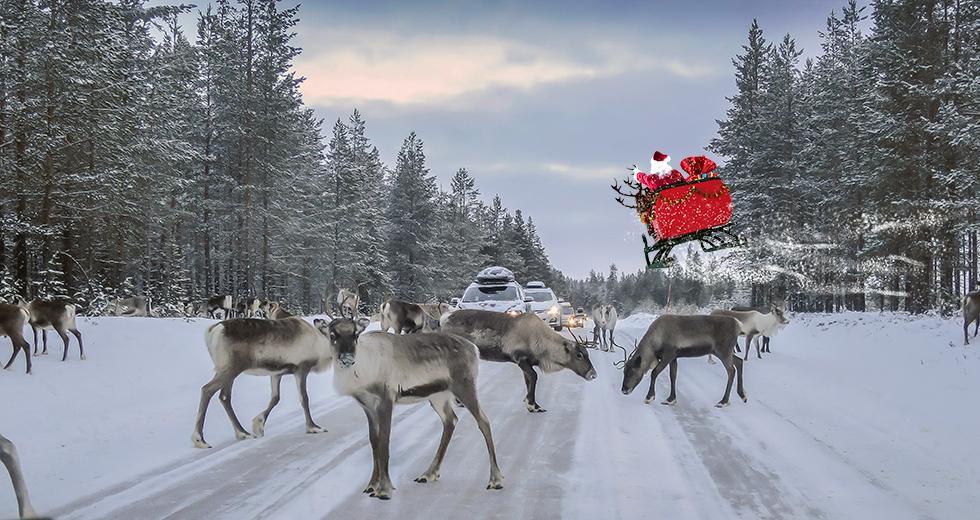 God jul önskar Vi Bilägare