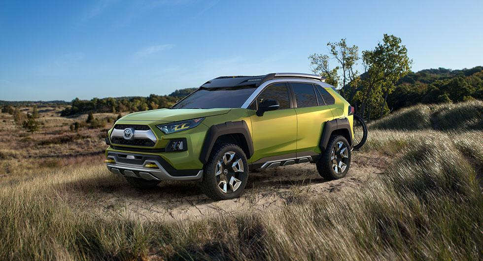Toyota drar ut på äventyr med FT-AC