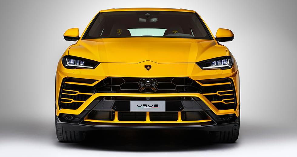 Här är Lamborghinis super-suv