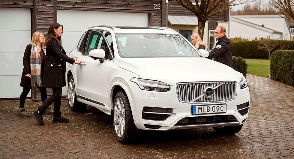 Familjen Hain ska utvärdera Volvos självkörande bilar, liksom…