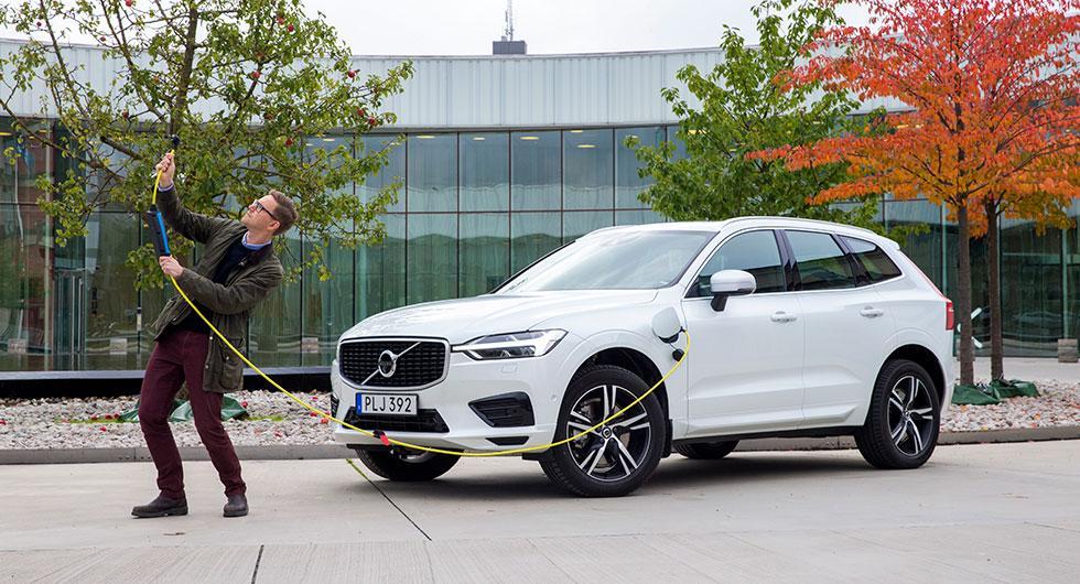 XC60 i laddhybridversion tar Volvo till toppen.