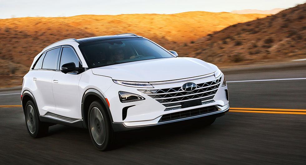 Hyundais nya vätgasbil heter Nexo