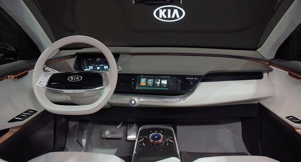 Kia Niro EV Concept når 38 mil på el