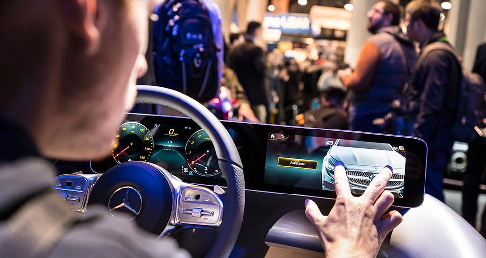 Mercedes lanserar operativsystem