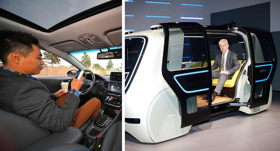 Hyundai och Volkswagen samarbetar med Aurora