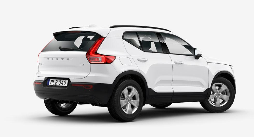 Billigaste varianten av Volvo XC40 är trecylindriga bensinaren T3 med framhjulsdrift och manuell växellåda, som i utrustningsnivån Bas kostar 293.900 kronor.