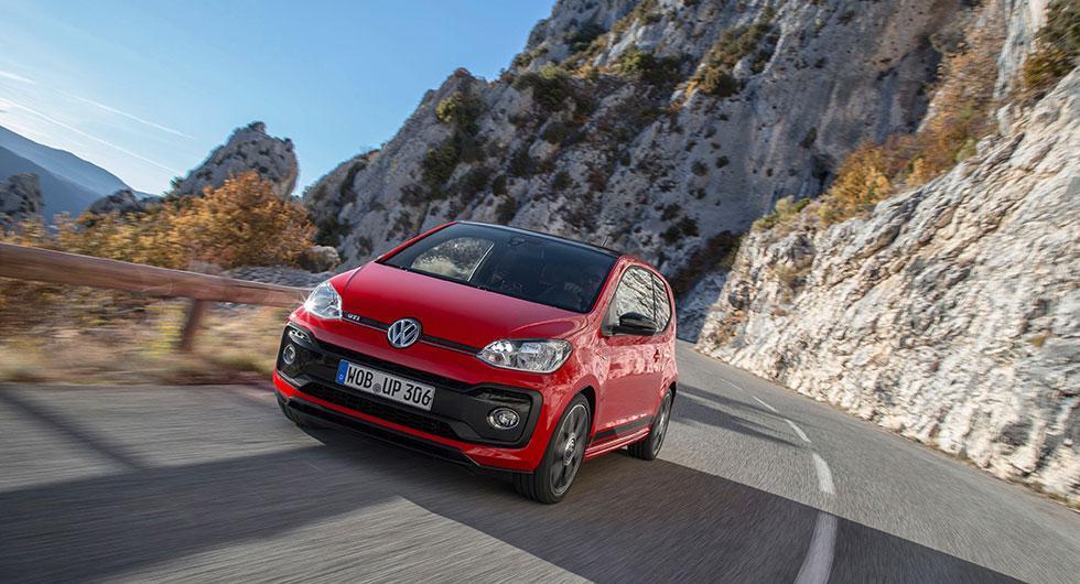 Så mycket kostar Volkswagen Up GTI