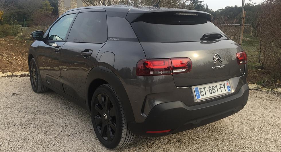 Citroën C4 Cactus - rapport från provkörningen