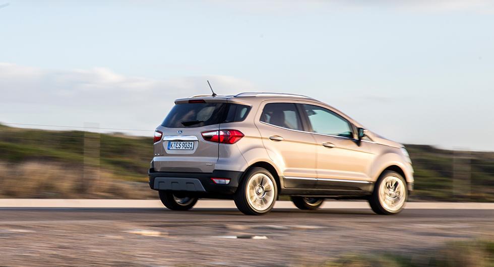 Provkörning: Ford Ecosport (2018)