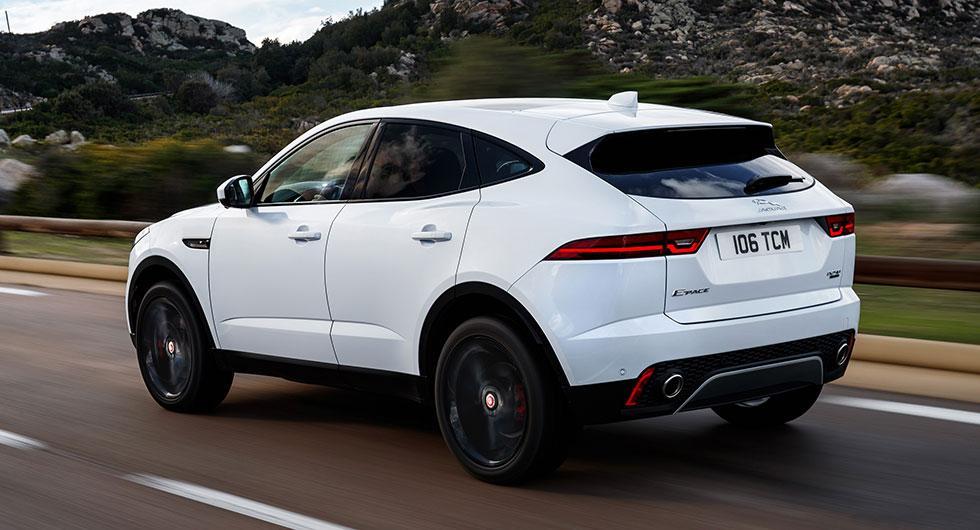 Svenskt pris på Jaguar E-Pace