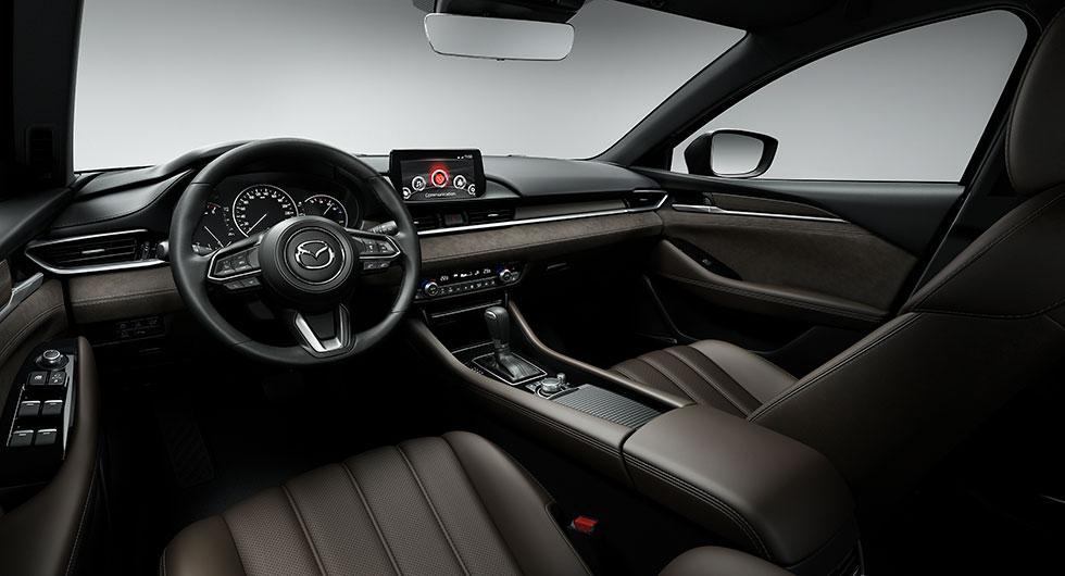 Förnyad Mazda 6 som kombi