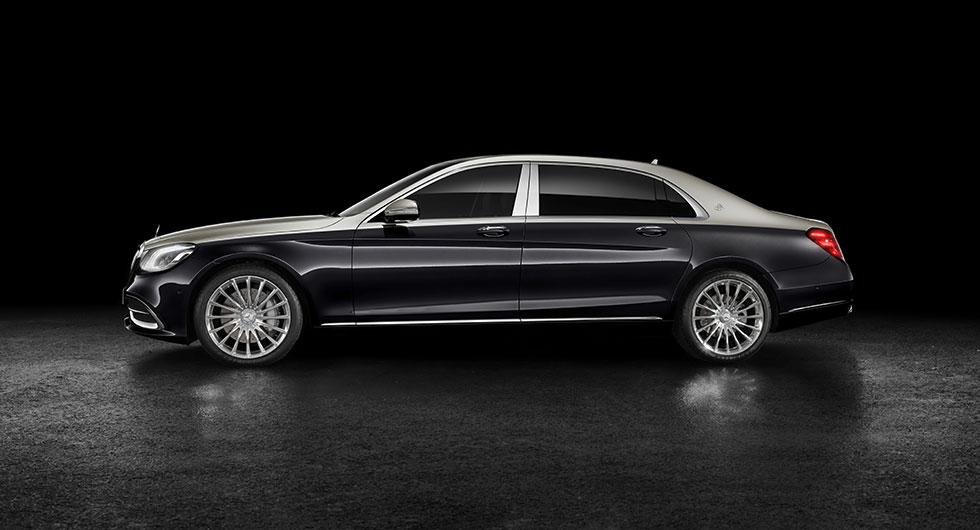Mercedes-Maybach S-klass i ny kostym