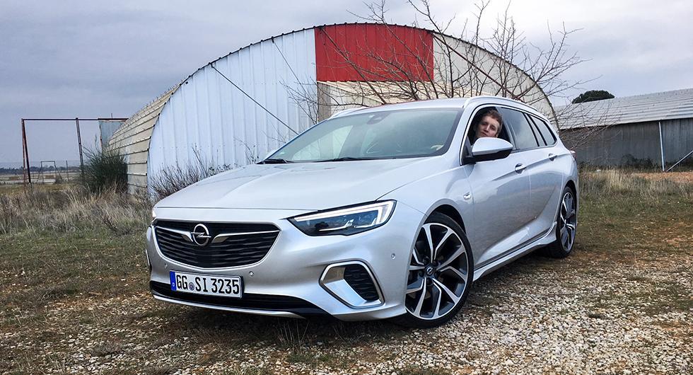 Opel Insignia GSi – rapport från provkörningen
