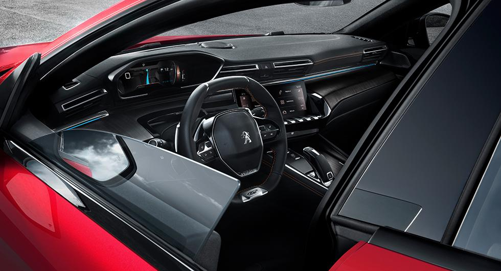 Peugeot 508 får mörkerseende