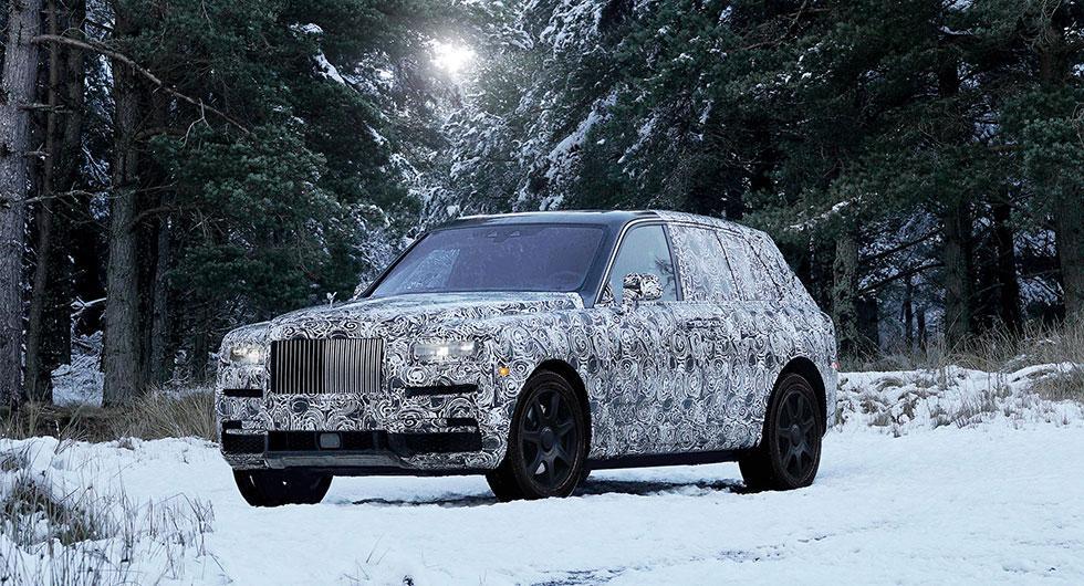 Suv från Rolls-Royce kommer att heta Cullinan