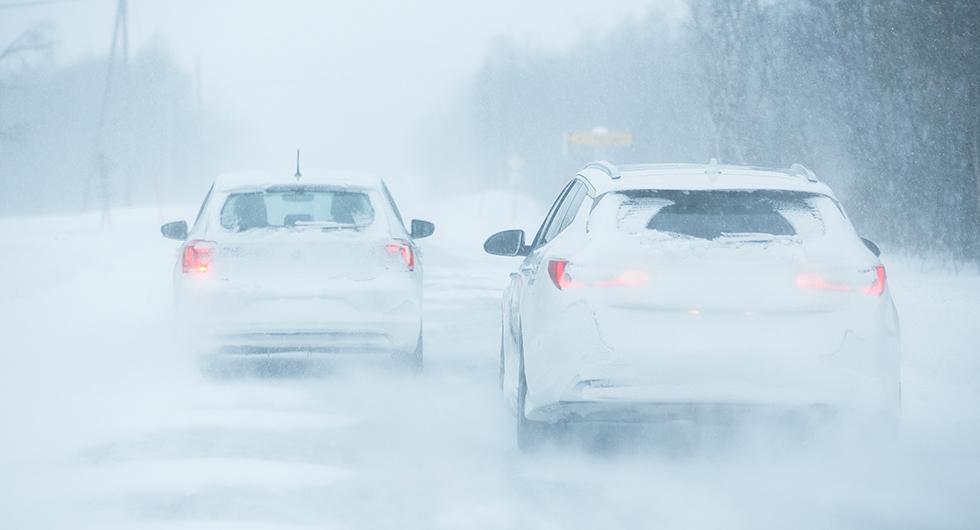 Trafikverket varnar för snöoväder